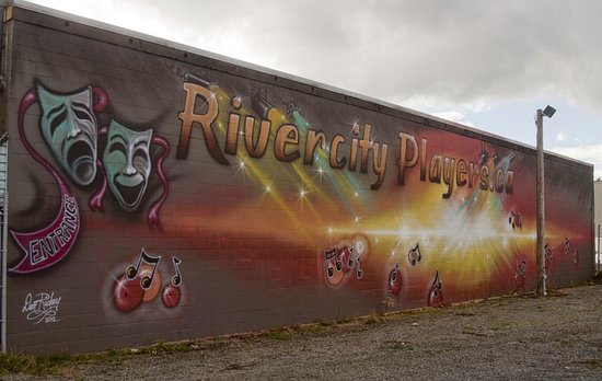 Campbell River, Canada: Side mural