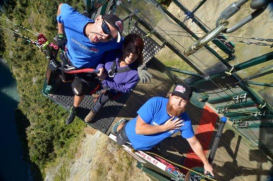 Shotover Canyon Swing & Canyon Fox: אני