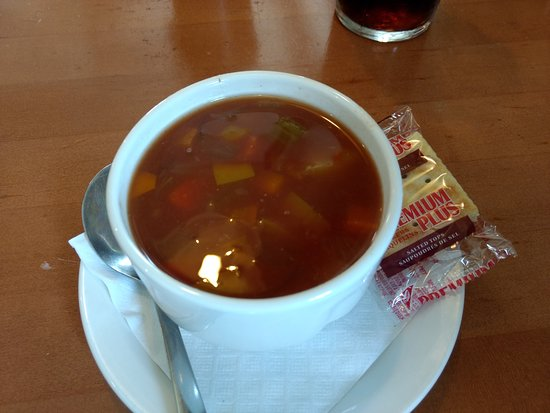 Dave's Fish & Chips: Manhattan seafood soup
