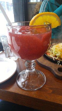 3 Amigos: Strawberry daiquiri