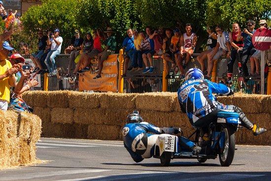 Carrera de motociclismo