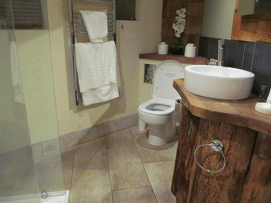 Micheldever, UK: Treehouse bathroom