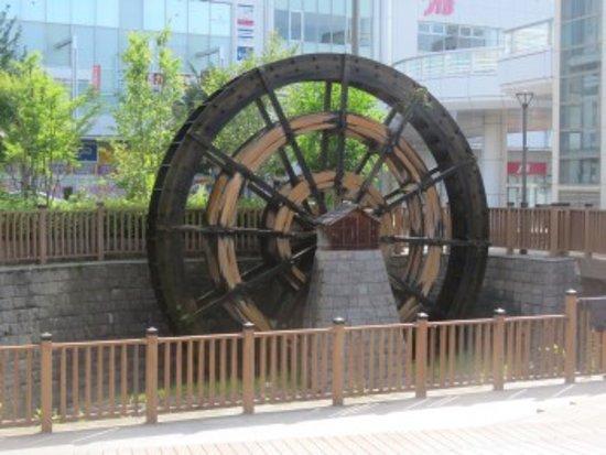 Уеда, Япония: 大きな水車