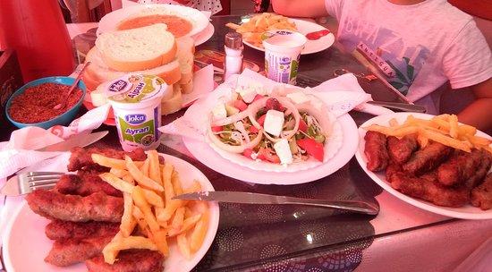 Regione di Skopje, Macedonia: obiad