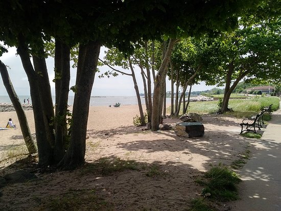 West Haven, Коннектикут: Beautiful day at the beach July 2018