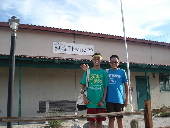 Twentynine Palms, CA: My sons performed for the Summer Youth Program.
