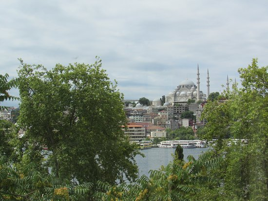 Istanbul Golden City Hotel: View from room