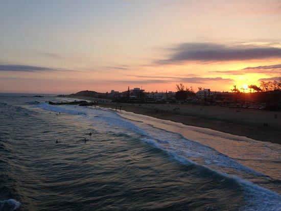 Por do sol inesquecível no Pier de Costazul !!!