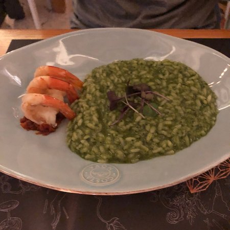 Risotto and gin