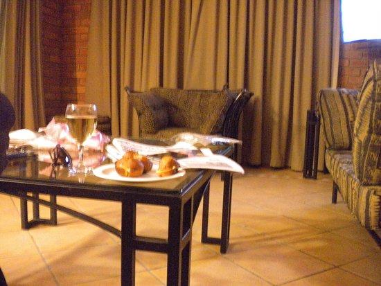 Monateng Safari Lodge: Lounge
