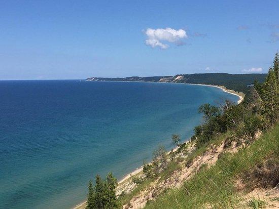 Arcadia, MI: View north!