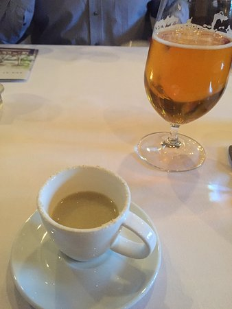 Farmhouse Inn Restaurant: Soup and a Pliney