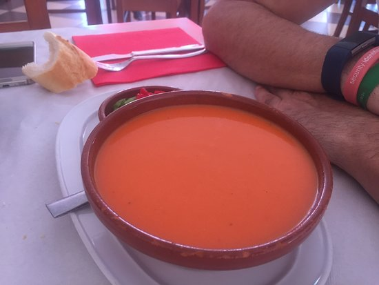Solosancho, Espanha: Gazpacho