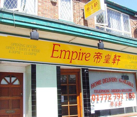 Empire Thai Chinese Takeaway Preston Restaurant Reviews