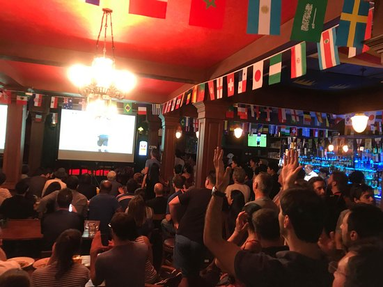 Tully's Irish Pub & Restaurant: World cup final