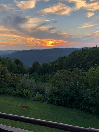 Pipestem, WV: Beautiful sunset