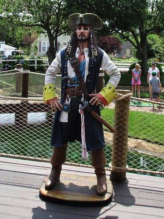 Pirate's Cove: Do you recognize this famous pirate from the movies??