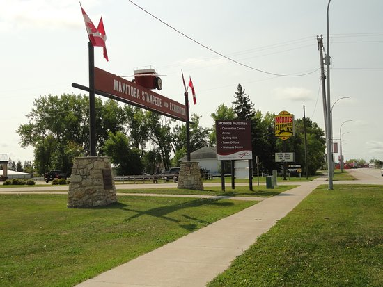Morris, Канада: Entrance to Stampede Grounds