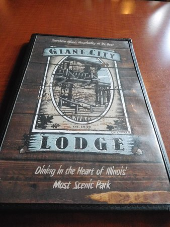 Giant City State Park Lodge & Restaurant: Menu