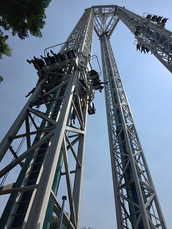 Knott's Berry Farm: Supreme scream - one of the scariest rides in the park!