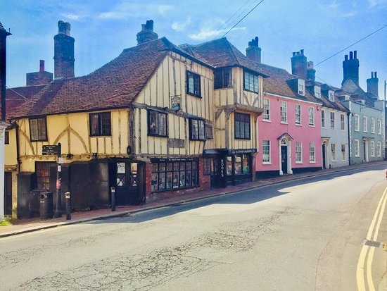 Lewes, UK: Fifteenth Century Bookshop