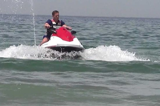 Buggy tour and jet ski
