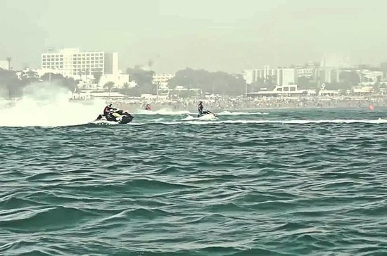 Quad biking and jet ski