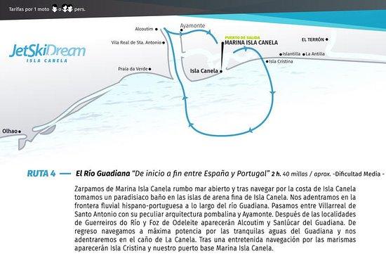Ruta De inicio a fin entre España y...
