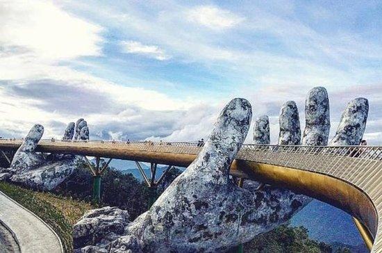 Hue- A Ponte Dourada Da Nang (Ba Na...