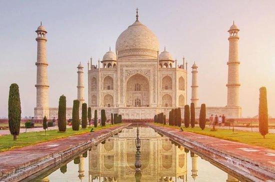 Privat Taj Mahal og Agra Fort Dagstur...