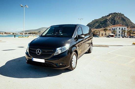 Minivan Private Transfer Athen Flughafen von oder nach Nafplio