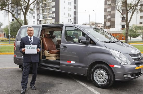 Transfer from Lima Airport to hotel or viceversa with driver only