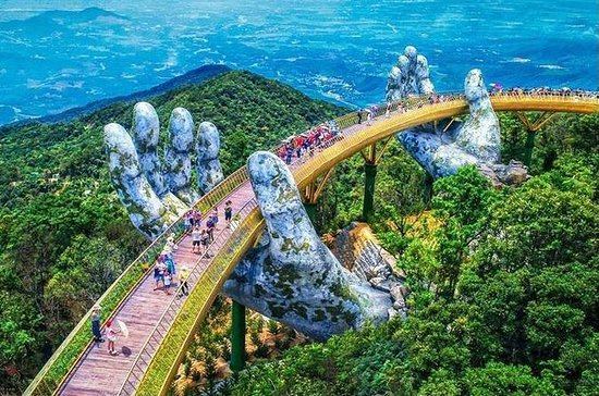 Golden Bridge e Ba Na hills Intera