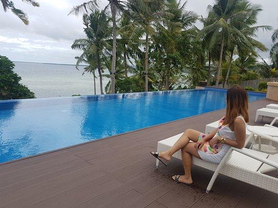 Bohol Province, Filippinerna: At the pool area