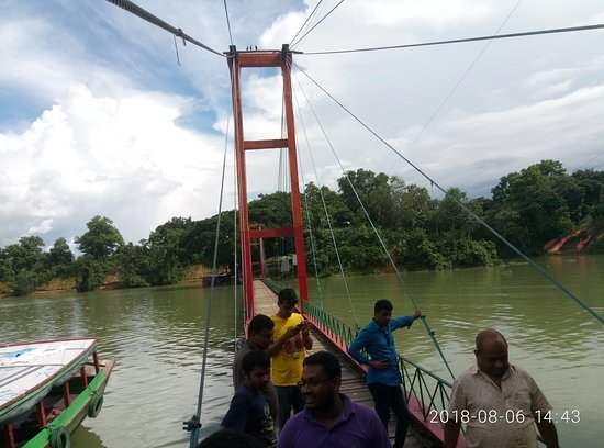 Rangamati, Bangladesch: Hanging Brigde