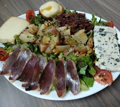 La salade Périgourdine du Fromage à Malices