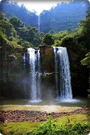 Sukabumi, Indonesia: Sodong Waterfall, taken on Mei 2013
