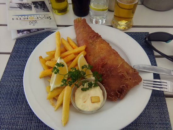 Seaforth: Fish and chips