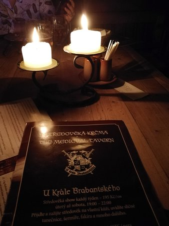 Tavern U Krale Brabantskeho: menu