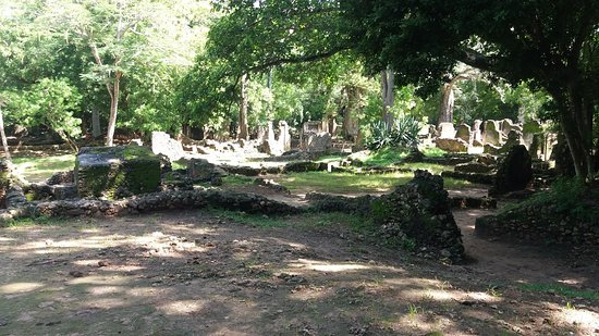 Gede Ruins: Palace Ruins