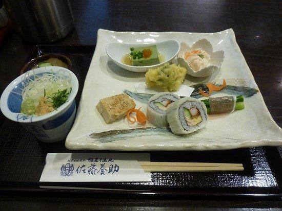 Yosuke Sato Akita: うどん点心のお料理