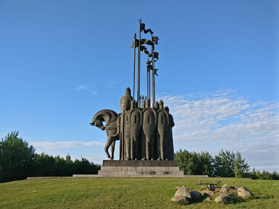 Monument In Memory of the Ledovoye Battle