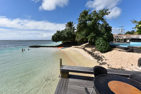 Manase, Samoa: Nice place to have a drink and lunch