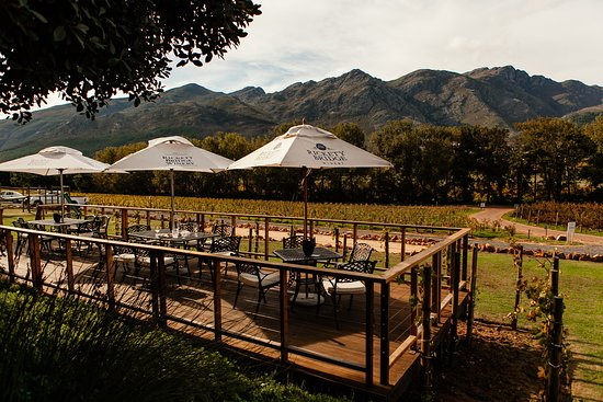 Φράνσεκ, Νότια Αφρική: Enjoy the African sun, while sipping your way through our award winning wines.