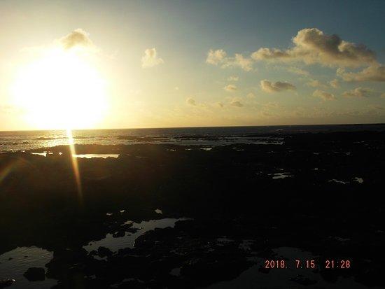 El Cotillo Beach & Lagoons: Cotillo atardecer blanco