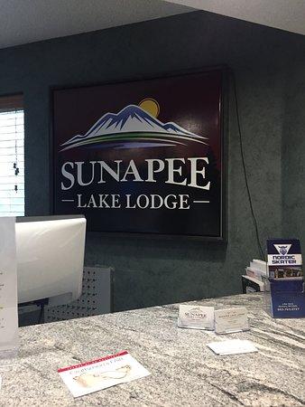 Mount Sunapee, Nueva Hampshire: Front desk