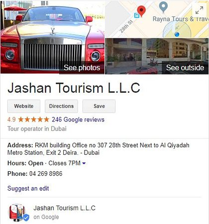 Jashan Tourism L L C Dubai 2019 All You Need To Know Before You