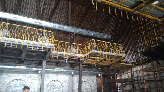 The Upper Deck under construction - Picture of Byg Brewski