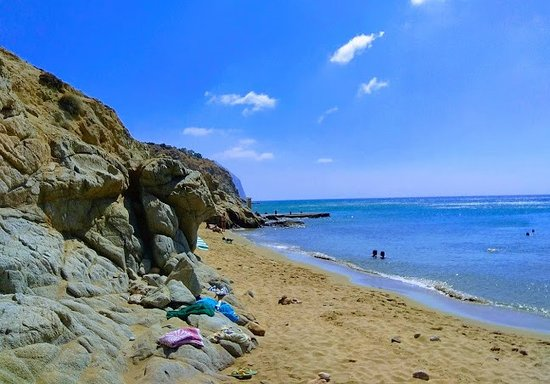 Anafi, Yunani: Υπέροχη αμμουδιά