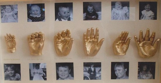 just one of the fab castings created at Precious Memories studio in Lytchett Matravers in Poole.